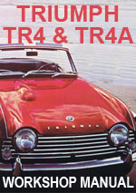 Triumph TR4 & TR4a Workshop Repair Manual